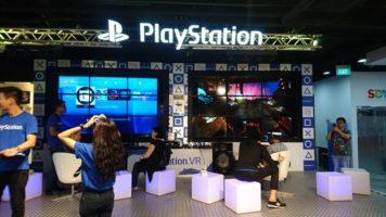 Playstation VR (PSVR) hands on